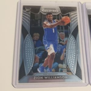 Zion Williamson ja, Nine card's totol